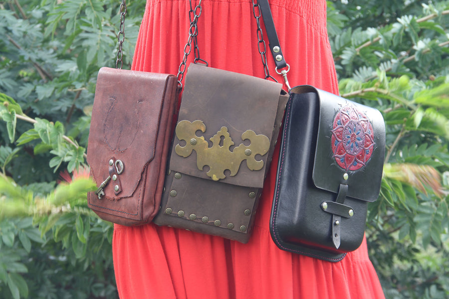 Evolution of an Idea: Boho Crossbody Bag