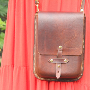 Galvin Leatherworks Branded Purse