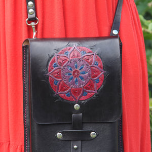 Galvin Leatherworks Mandala Purse