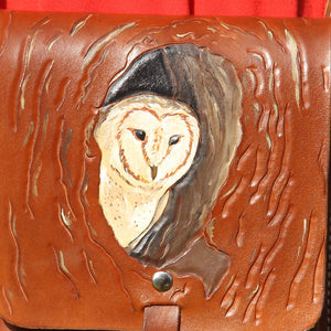 Barn Owl - Crossbody Purse