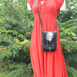 Sugar Skull - Crossbody Purse