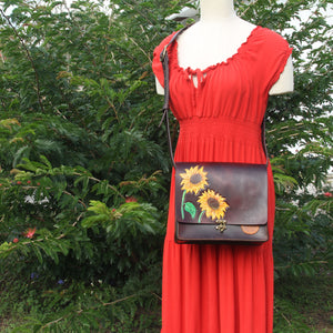 Sunflower Crossbody Purse