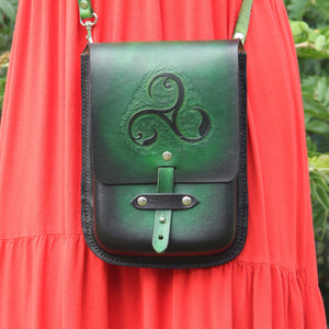 Triskele - Crossbody Purse