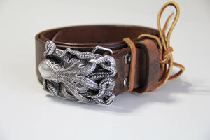 Octopus Buckle with Belt
