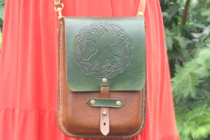 Tree of Life Celtic Knot - Crossbody Purse