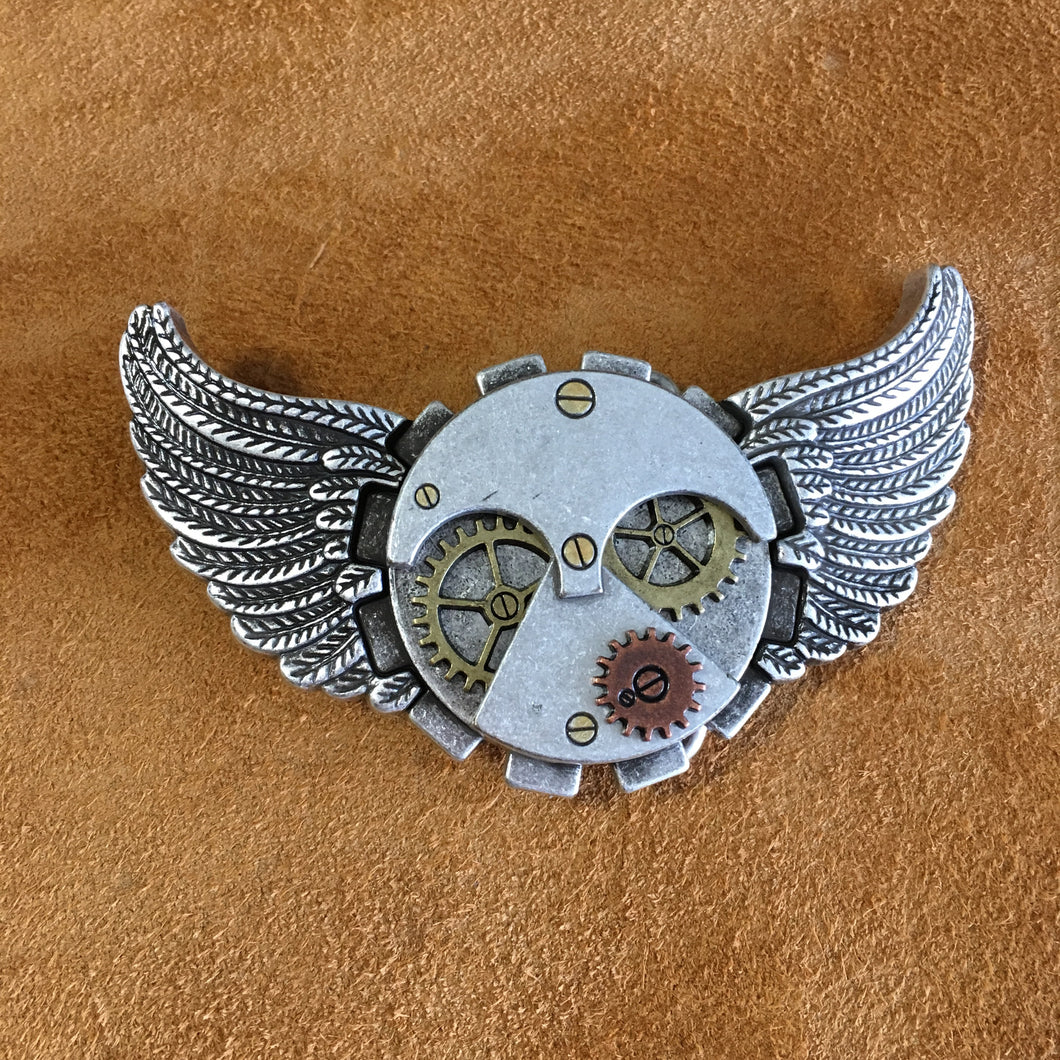 Wings of Steampunk Buckle