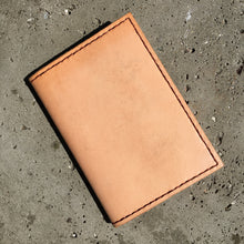 Pocket Journal - Natural with Brown Thread