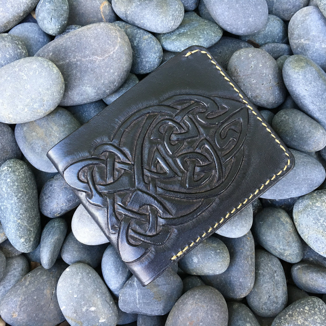 Nautilus Wallet with Celtic Knots