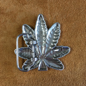 Pot Leaf Buckle