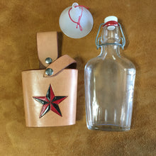 Flask Holster with Nautilus Star