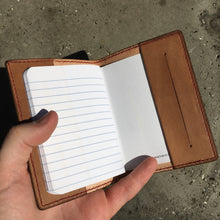 Pocket Journal - Sand with Red Thread