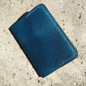 Pocket Journal - Evening Blue with Grey Thread