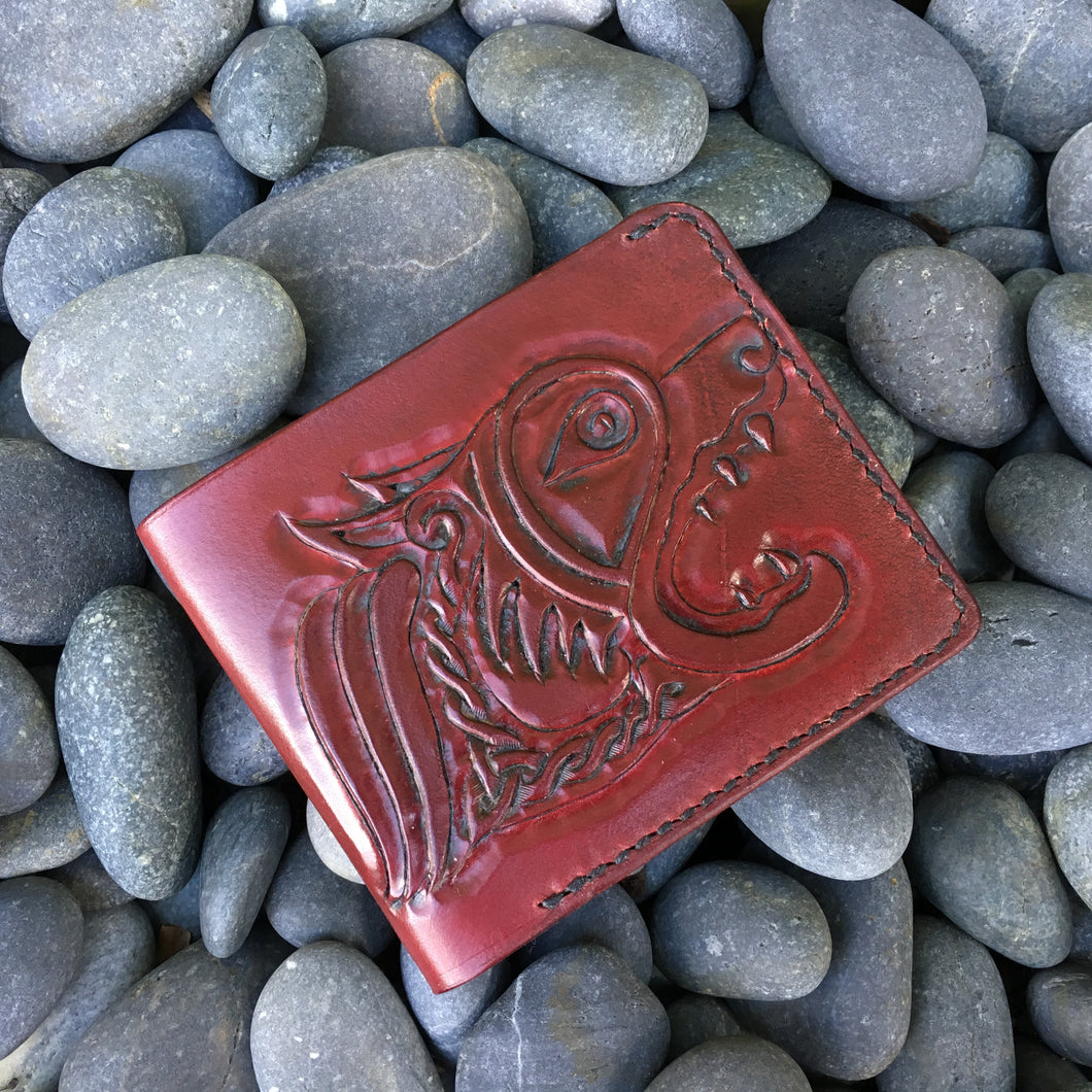 Nautilus Wallet with Celtic Hounds