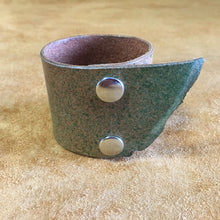 Green Cuff with Rough Edge