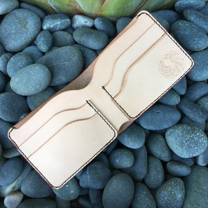 Nautilus Wallet with Celtic Wolves
