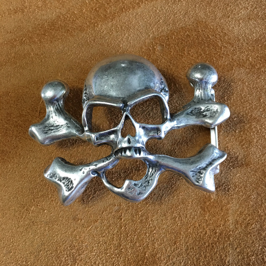 Skull and Crossbones Buckle
