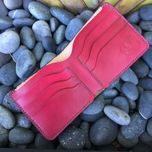 Kraken Wallet in Black with Red Interior