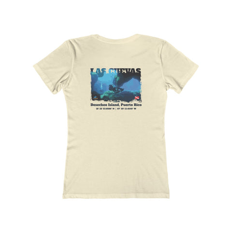 Women's Las Cuevas (The Caves) Desecheo Island Tee