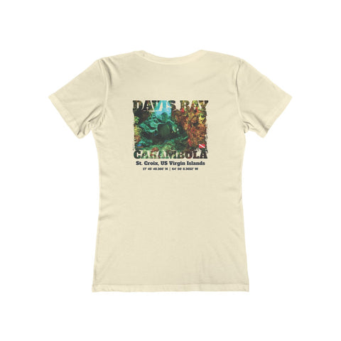 Women's Davis Bay (Carambola) French Angelfish Tee