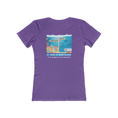 Women's Japanese Garden & Eagle Ray Tee