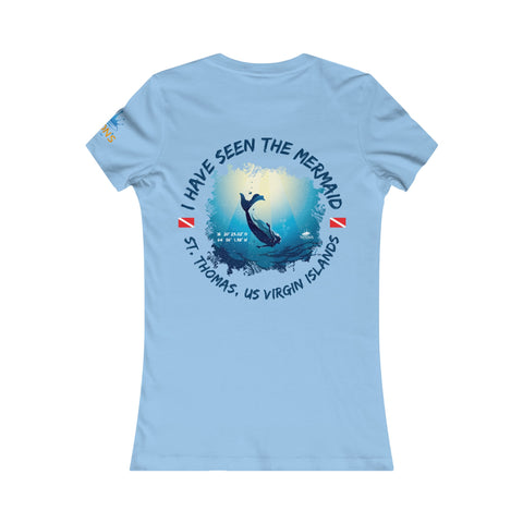 "Women's ""I Have Seen The Mermaid"" St. Thomas Tee"