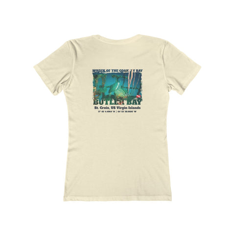 Women's Wreck Of The Coakley Bay (Sea Turtle) Tee