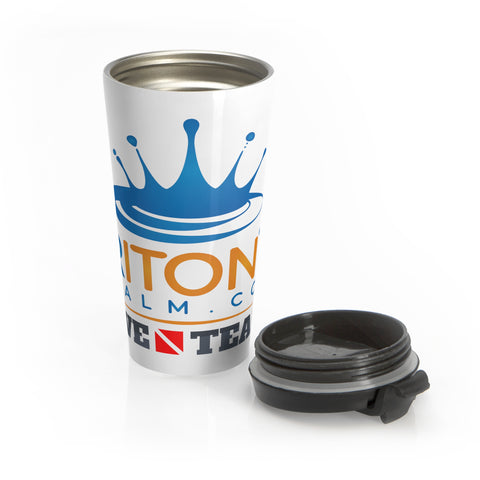Stainless Steel Dive Team Travel Mug