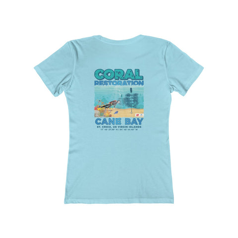 Women's Cane Bay Coral Restoration Tee