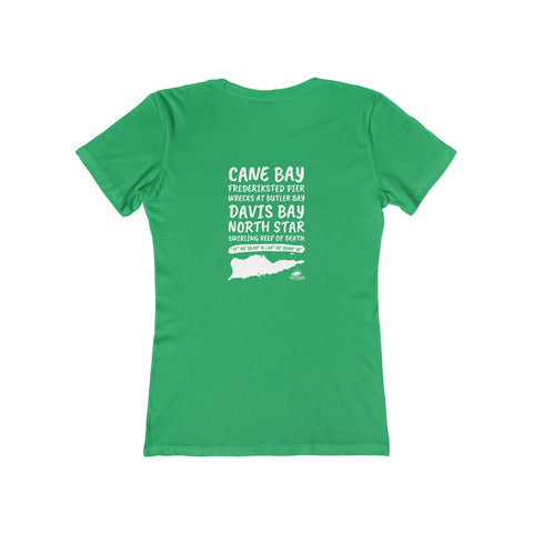 Women's St. Croix Dive Sites Tee
