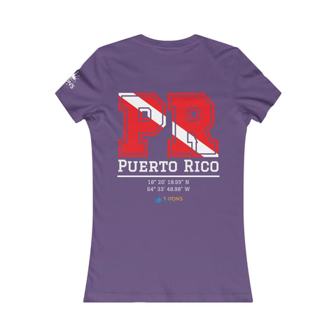 Women's PR Dive Flag Tee