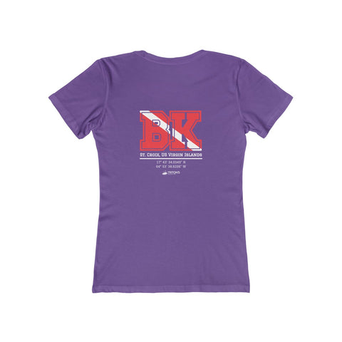 Women's BK Dive Flag Tee