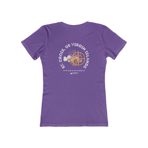 Women's St. Croix Lionfish Hunter Tee