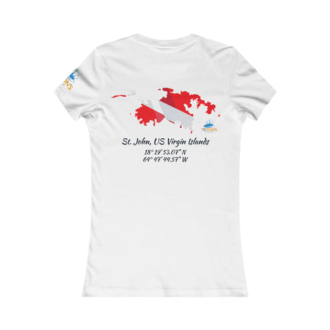 Women's St. John Dive Flag Tee