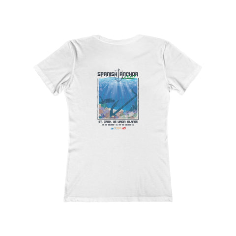 Women's Spanish Anchor Tee