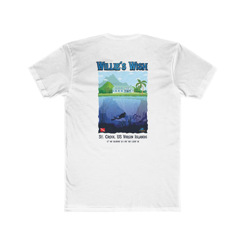 Men's Willie's Wish Dive Site Tee