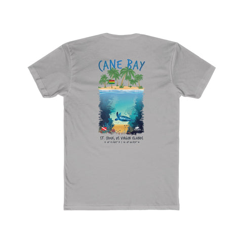 "Men's Cane Bay ""Respect The Beach"" Tee"