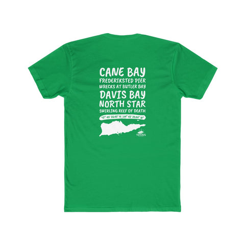 Men's St. Croix Dive Sites Tee