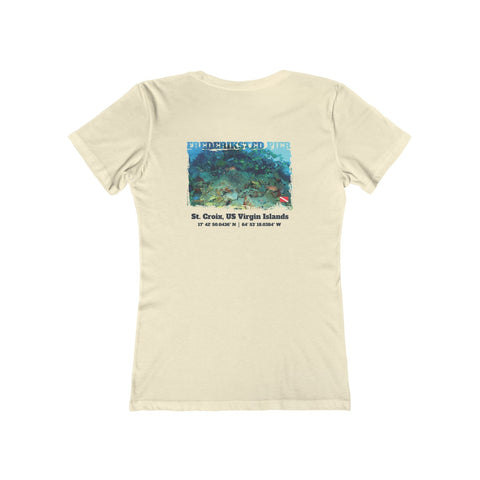 Women's Frederiksted Pier Reef Fish Tee