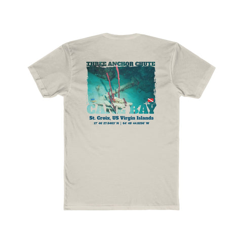 Men's Three Anchor Chute Cane Bay Tee