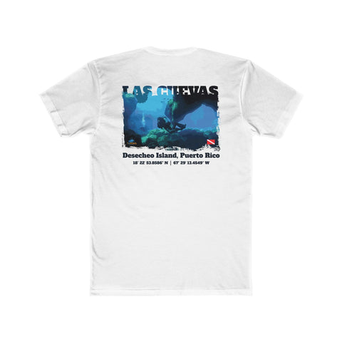 Men's Las Cuevas (The Caves) Desecheo Island Tee