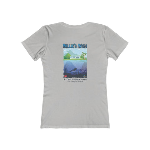 Women's Willie's Wish Dive Site Tee