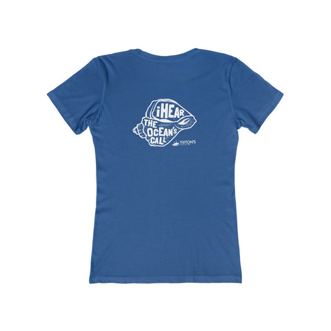 Women's I Hear The Ocean's Call Tee