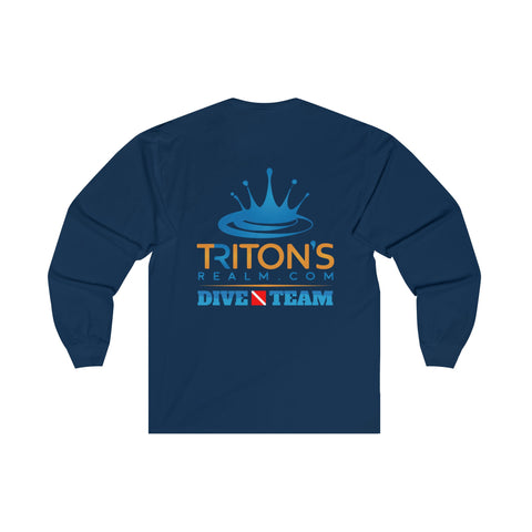 Adult Long Sleeve Dive Team Tee