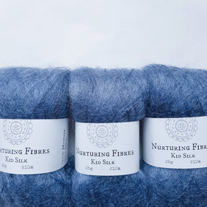 Nurturing Fibres Kid Silk Atlantic