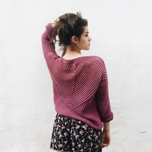 English | Mason Sweater Pattern