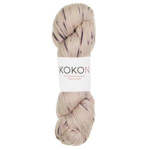Kokon Fingering Merino Rock Speckled