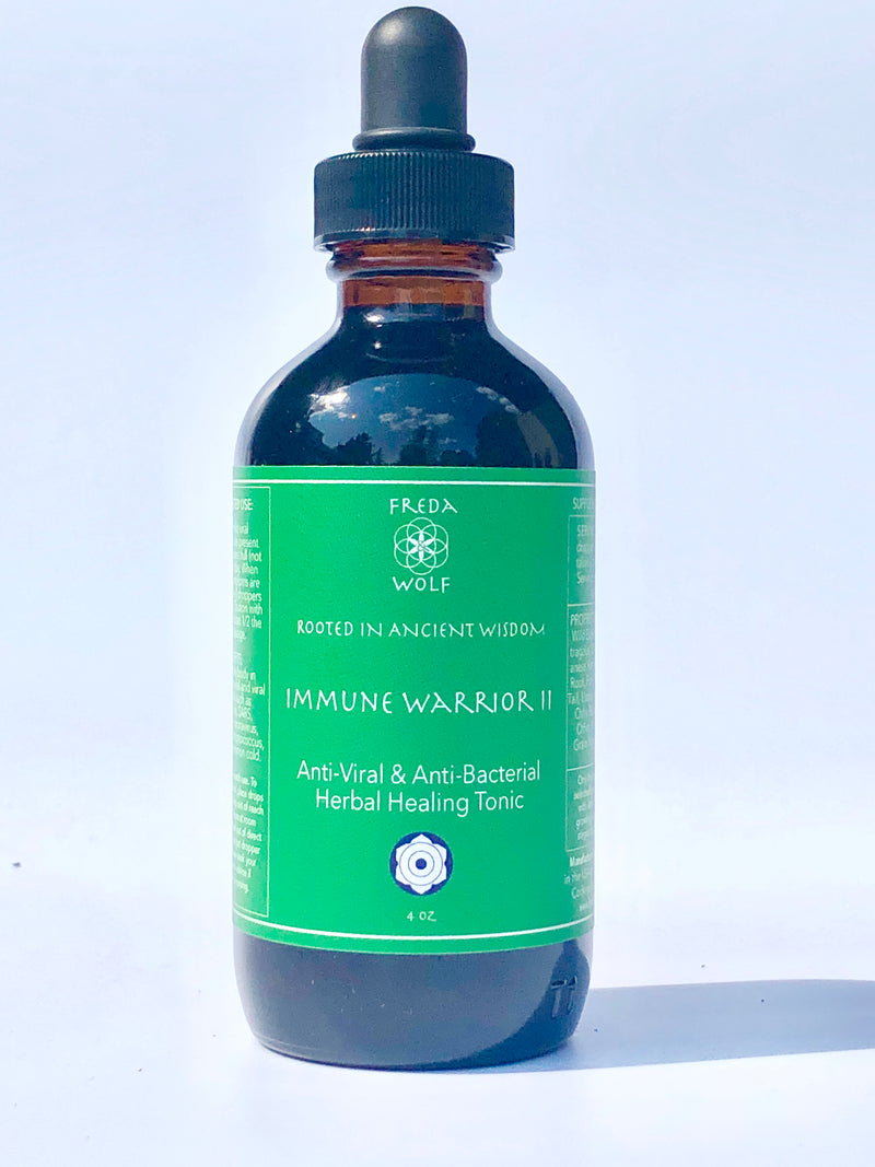 Immune Warrior II : anti-viral, anti-bacterial tincture