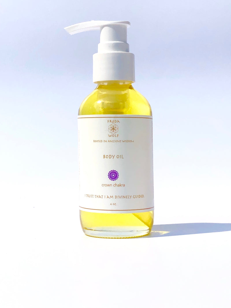 Body Oil 4 oz - dry skin solution