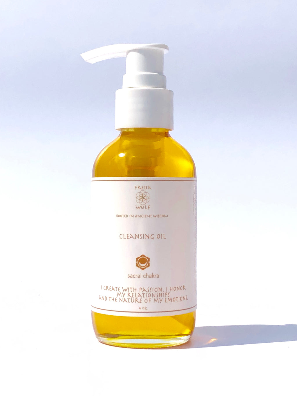 Cleansing Oil 4 oz - remove makeup, minimize pores, soften skin