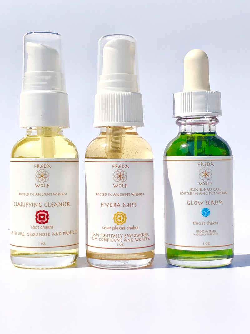Trio of Youth - cleanse, firm & hydrate